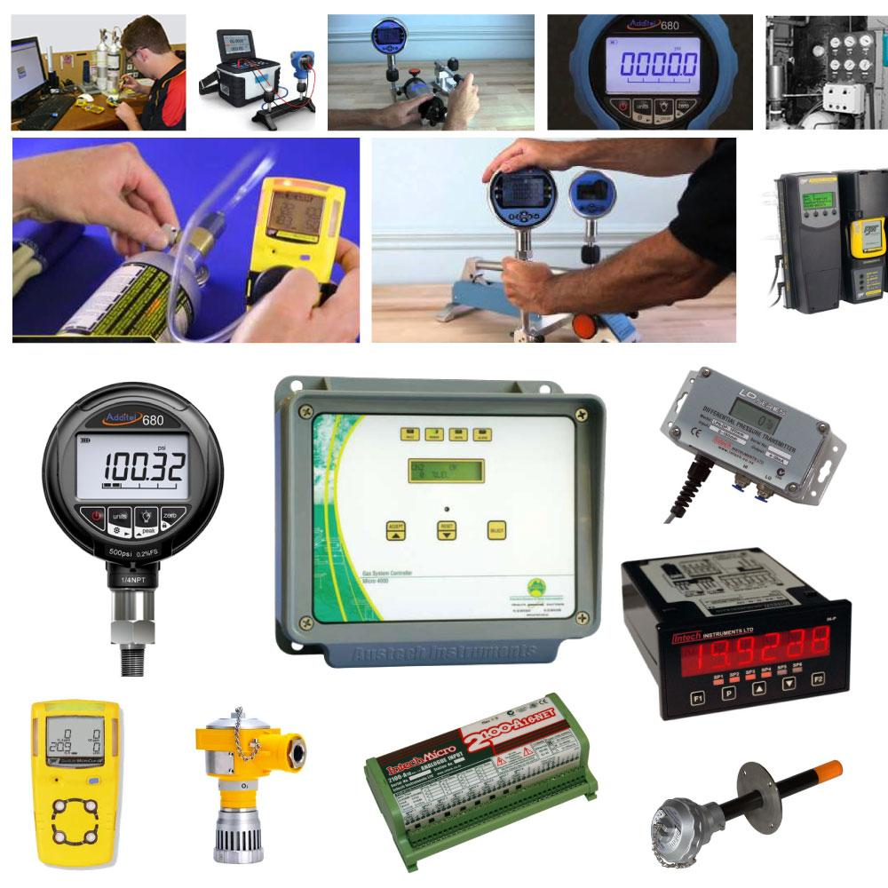 Calibration, System Design, Installation, Fault Finding