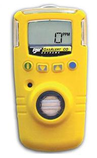 GasAlert Extreme Single Portable Gas Detector from BW Technologies by Honeywell